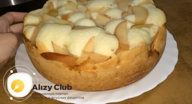 По рецепту. для приготовления шарлотки с яблоками, подготовьте нужные ингредиенты