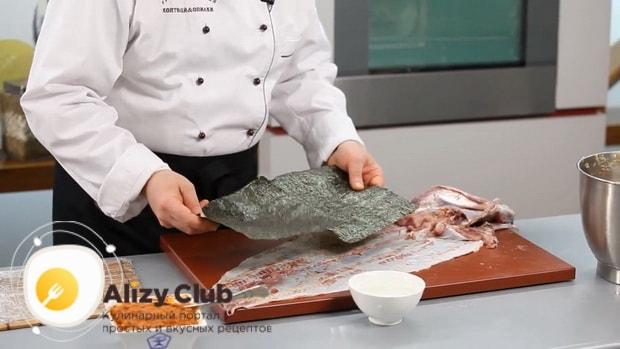Для приготовления фаршированной щуки, подготовьте ингредиенты