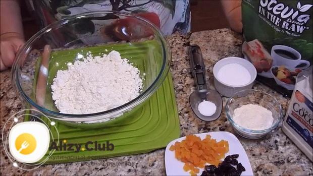 Для приготовления сырников в духовке без муки, приготовьте все ингредиенты