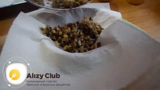 Смотрите как приготовить тарталетки с грибами и сыром по простому рецепту