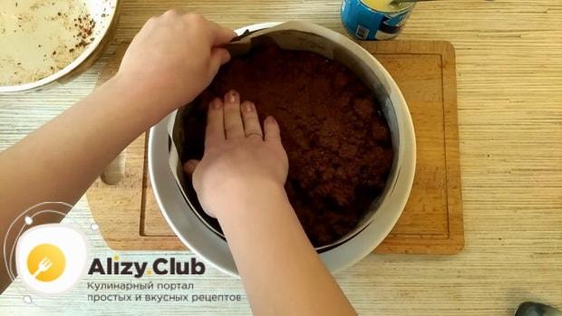 Для приготовления торт баунти без выпечки подготовьте форму
