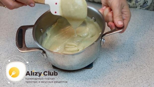 Для приготовления торта чародейка по рецепту в домашних условиях, приготовьте крем