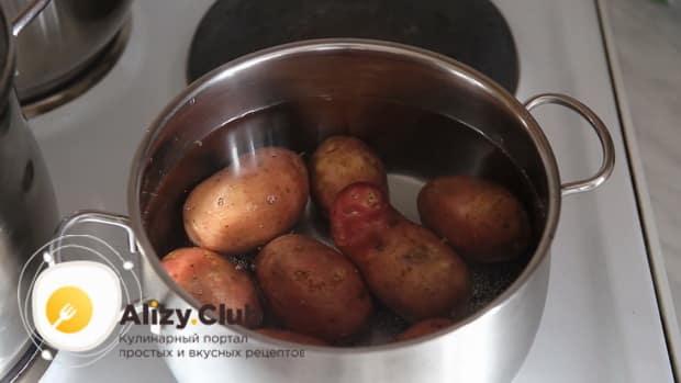 Готовим жареные лисички с картошкой