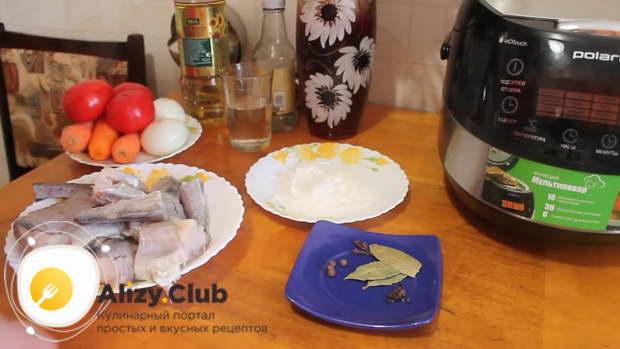 Рецепт минтая под маринадом в мультиварке