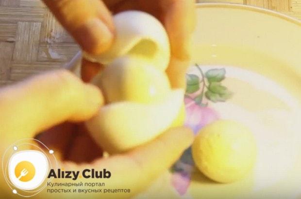 Приготовим вкусный салат Мимоза с горбушей по классическому пошаговому рецепту.