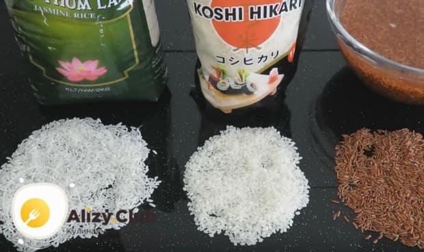 Для приготовления такого плова лучше использовать пропаренный рис.