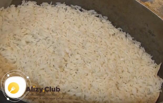 Приготовленный таким образом рис получается рассыпачастым.