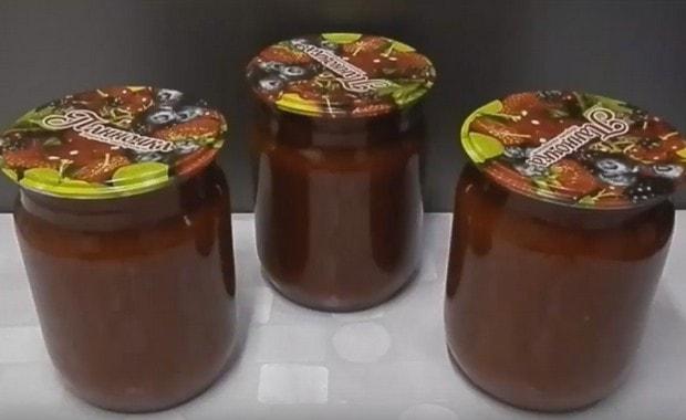Соус из слив - заготовка на зиму - рецепты Джуренко