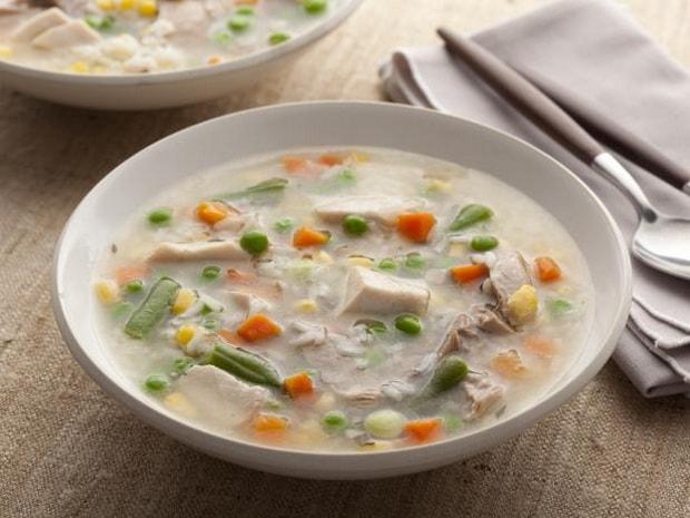 Сварите суп на бульоне из индейки