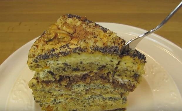 Пошаговый рецепт приготовления торта «Дамский каприз» с фото