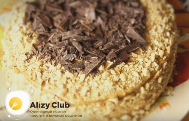 Приготовьте нежный торт Мужской идеал по нашему рецепту с фото.