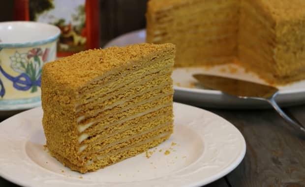 Как приготовить классический торт Медовик по пошаговому рецепту с фото