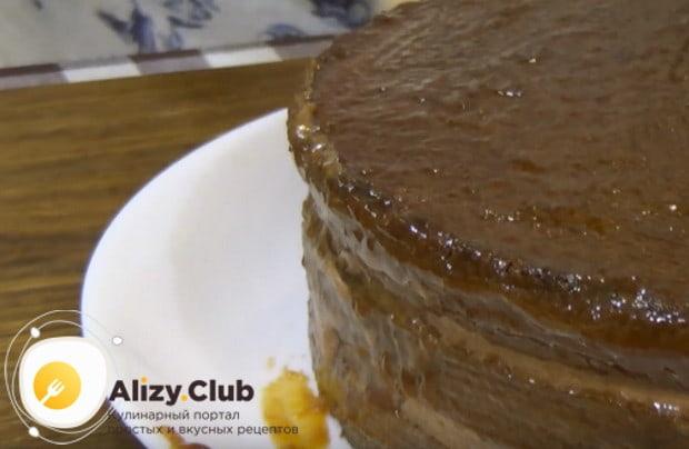 Наш рецепт с фото поможет вам пошагово приготовить такой пражский торт.