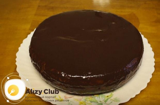 По нашему рецепту с фото вы сможете приготовить такой же замечательный торт Прага в мультиварке.