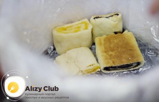 Посмотрите также в рецепте на видео, как правильно формировать торт Трухлявый пень.
