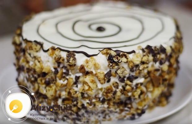 Этот домашний рецепт поможет вам испечь замечательный торт Трухлявый пень.
