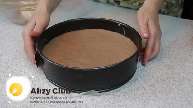Отправляем ее в духовку при температуре 180° на 40-45 минут
