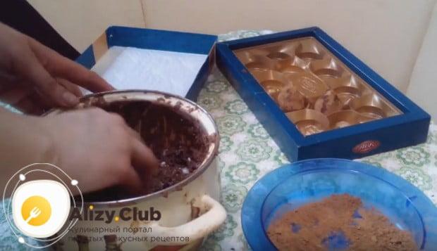 Приготовить такие конфеты трюфеля по рецепту с сухим молоком, как видите, не составит труда.