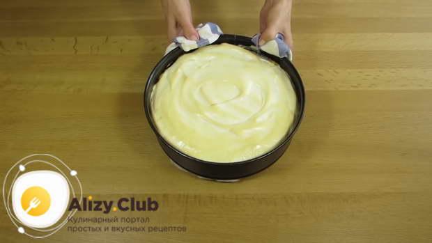 Возвращаем торт в духовку на 15 минут при 160 градусах