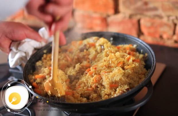 Готовим узбекский плов по детальному рецепту со свининой