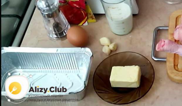 суфле из куриных грудок в духовке рецепт
