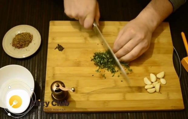 А в этом рецепте мы используем чабрец.