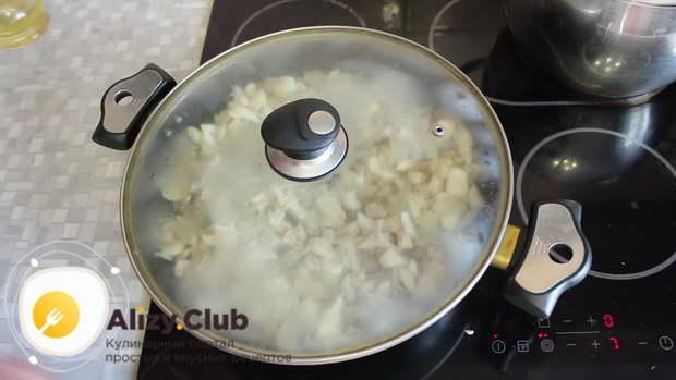 Для приготовления вешенок тушите грибы полчаса