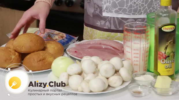жульен в булочках с грибами рецепт