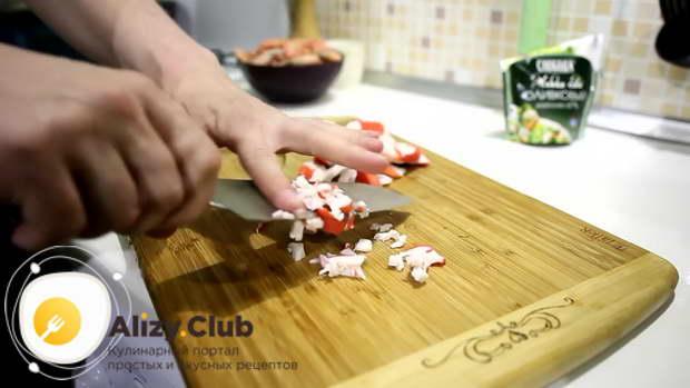 Острая закуска на чипсах - рецепт пошаговый с фото