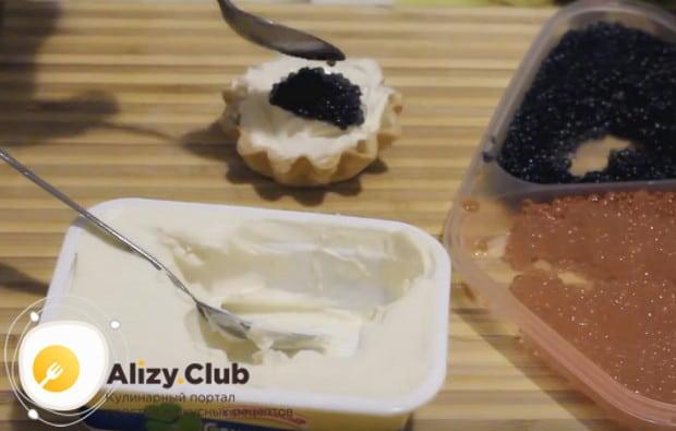 Обратите внимание на простые рецепты закуски в тарталетках на праздник.