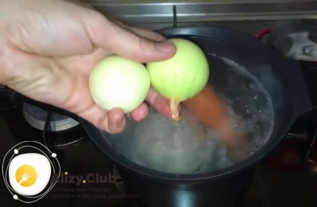 заливное из говядины с желатином пошаговый рецепт