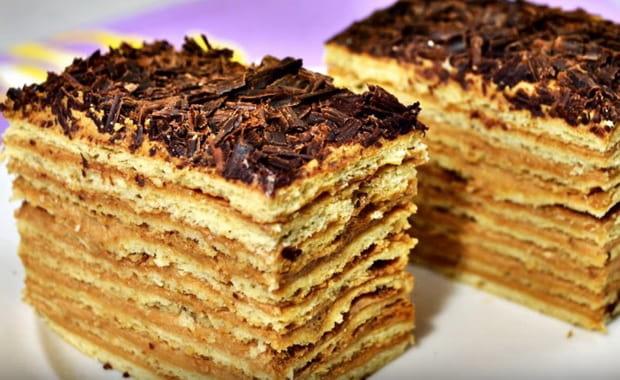 Как приготовить армянский торт Микадо по пошаговому рецепту с фото