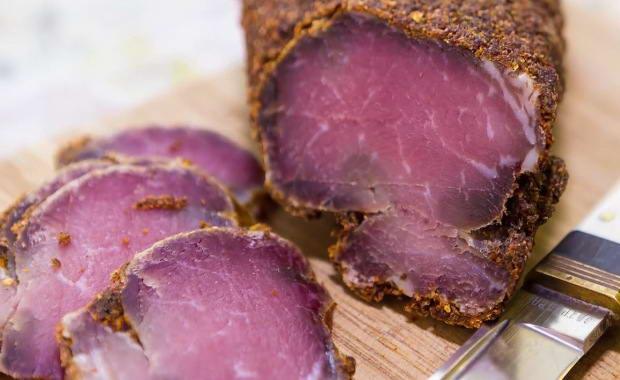 Пошаговый рецепт бастурмы из говядины в домашних условиях