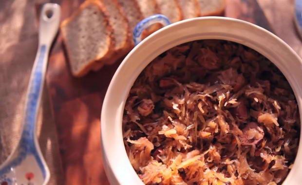 Пошаговый рецепт приготовления классического бигуса (бигоса) с фото