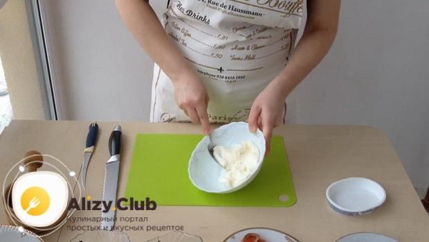 Как приготовить бутерброды с творожным сыром и красной рыбой