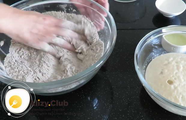 рецепт ржаного бездрожжевого хлеба