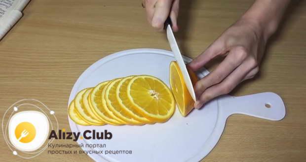 рецепт апельсиновых чипсов