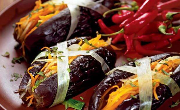 Лучшие рецепты приготовления фаршированных баклажанов на зиму