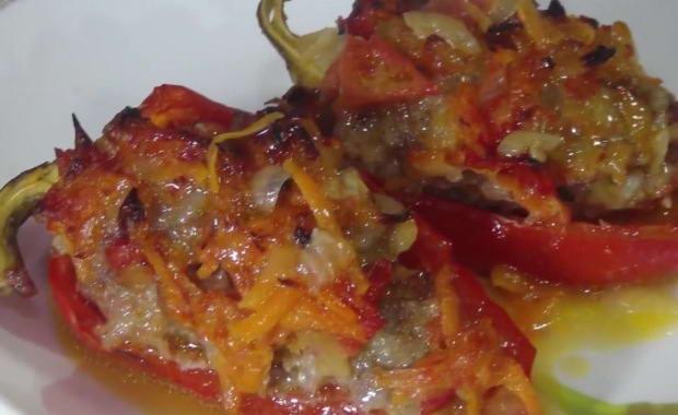 Рецепты приготовления фаршированного перца в духовке