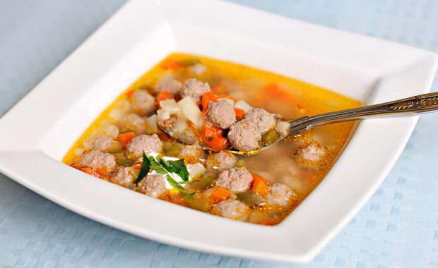 Пошаговый рецепт приготовления фрикаделек для супа с фото