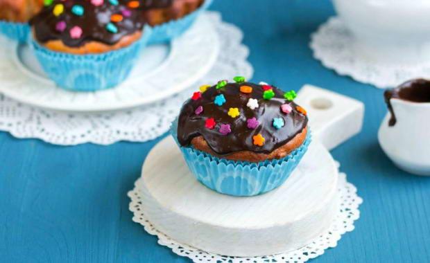 как приготовить глазурь для кексов