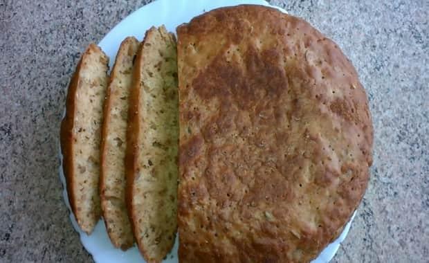 Как испечь бездрожжевой хлеб по пошаговому рецепту с фото