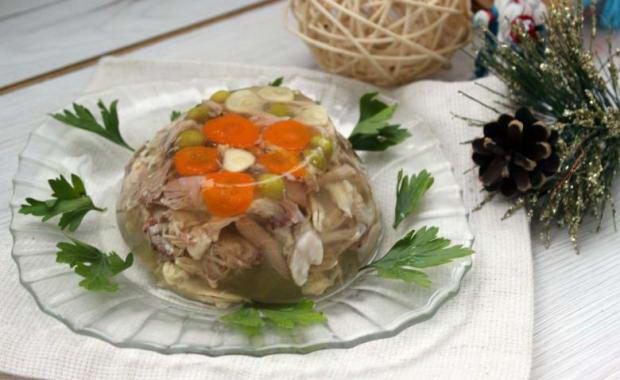 Пошаговый рецепт приготовления холодца в мультиварке с фото