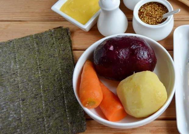 ингредиенты для шубы без селедки