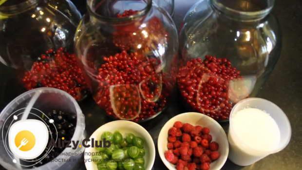 компот из свежих ягод
