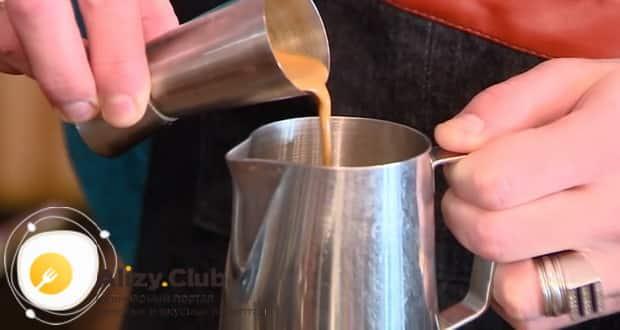 ля приготовления классического раф кофе, по рецепту, подготовьте ингредиенты