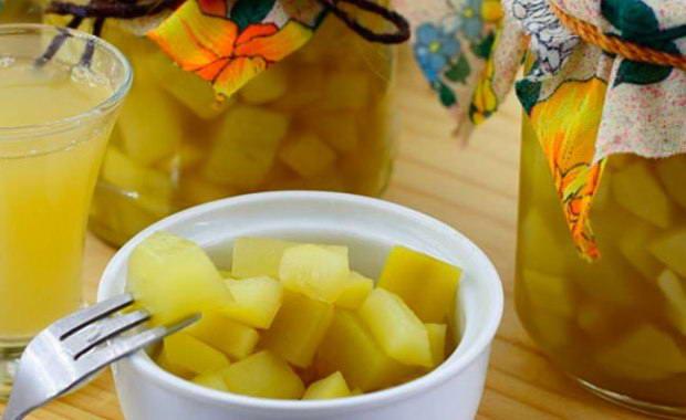 Рецепт приготовления компота из кабачков на зиму по вкусу как ананас