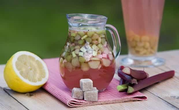 Рецепт приготовления вкусного компота из ревеня на зиму
