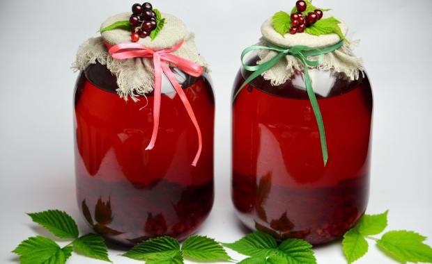 Рецепт приготовления вкусного компота из ягод на зиму