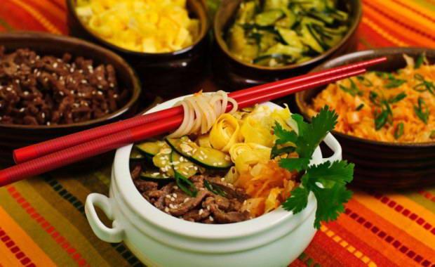 Пошаговый рецепт приготовления кукси по-корейски с фото